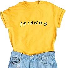 Erxvxp Women Cute T Shirt Junior Tops Teen Girls Graphic Printed T-Shirt