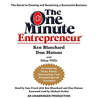 The One Minute Entrepreneur cover art