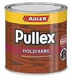 ADLER Pullex Holzfarbe - deckende Wetterschutzfarbe für Sanierung und Neuanstrich mit Schutz vor Bläue- und Schimmelpilz - Ocker 750ml