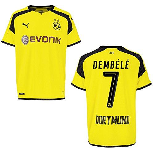 PUMA BVB Borussia Dortmund Trikot 3rd Herren 2016/2017 - DEMBÉLÉ 7, Größe:XL