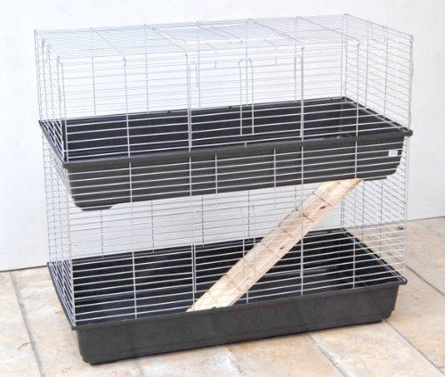 Small Animal Cage Bunny 1002Piani, 100x 58x 94cm
