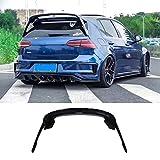 KERIST ABS MK7 Gloss Black Rear Wing Side Spoiler Lip for Volkswagen Golf 7 2014 2015 2016 2017