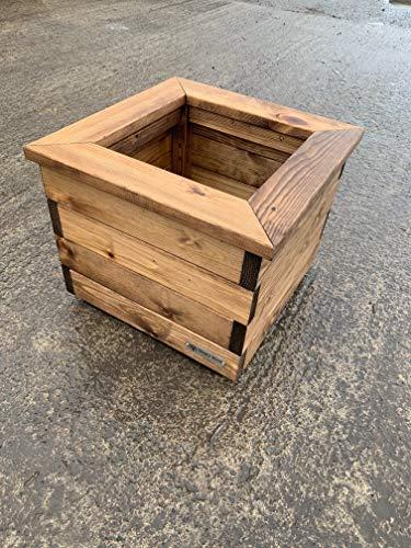 Premium Square Wooden Garden Planter – LARGE – Sale!!!