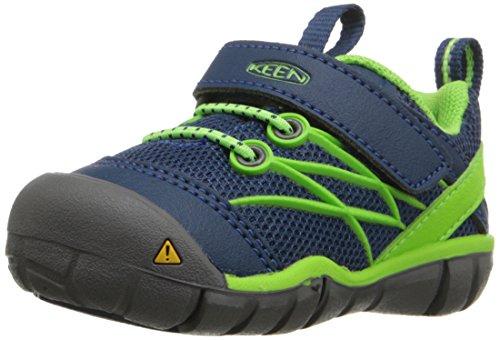 KEEN Unisex Baby Chandler CNX Sneaker, Blau (Poseidon/Jasmine Green Poseidon/Jasmine Green), 22 EU