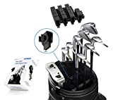 Golf Club Organizers 14pcs 1set Clip Power Holder to Protect Iron Putter on Bag