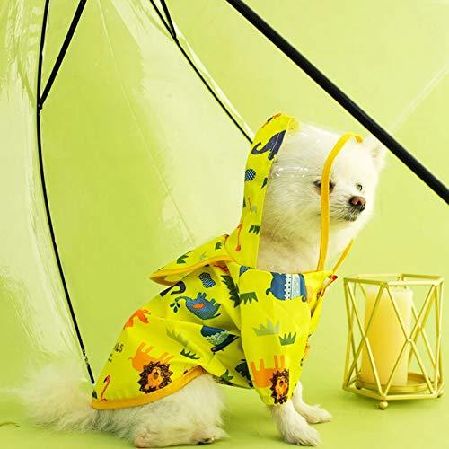 N/A Ropa para Perros Ropa para Perros Pequeños Y Medianos Primavera Verano Abrigo De Algodón De Tiburón Traje Sudaderas con Capucha para Perros Lindo Disfraz De Cachorro