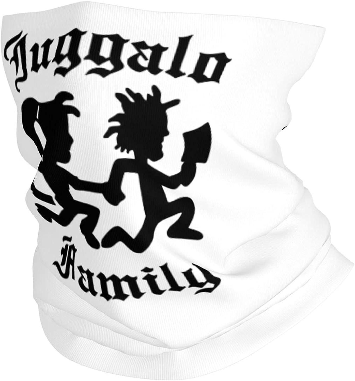 Juggalo Family ICP Hatchet Man Neck Gaiter Face Mask Cooling Breathable UV Shield Balaclava Bandanas Headband for Women Men