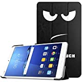ATiC Huawei MediaPad M3 8.4/ docomo dtab Compact d-01J用開閉式三つ折薄型スタンドケース Don't Touch Me