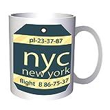 Nuevo New York Usa Vuelo 330 ml taza m426