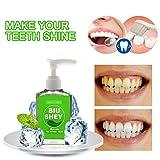 VIVILIAN 60ml Pompa Design Denti Whitening dentifricio per Macchie rimozione Fresco alito Orale Cura