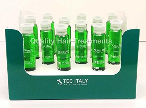 Tec Italy Hair Therapy Tonico AntiCaduta 12 Ampolletas de - 10 ml/0.33 oz