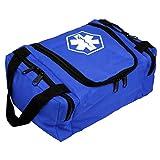 Dixie EMS 636841BL Dixigear Empty First Responder II Bag, Blue
