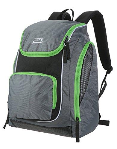 Zoggs Pool Side Standard Rucksack, Grau/Grün, Nicht zutreffend