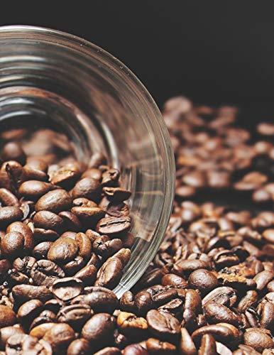 Kaffee Tasting Buch: Dein persönliches Verkostungsbuch zum selber ausfüllen ♦ für über 100 verschiedene Kaffeesorten ♦ Egal ob aus europäischen, ... A4+ Format ♦ Motiv: Kaffeebohnen