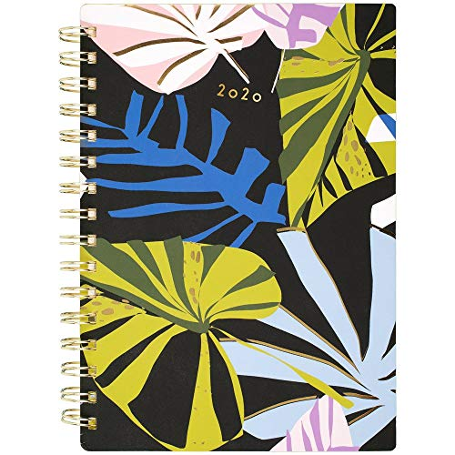 """Lillian Farag 2020 Weekly & Monthly Planner, 5-1/2"""" x 8-1/2"""", Small, Paper Palms (5325-200)"""