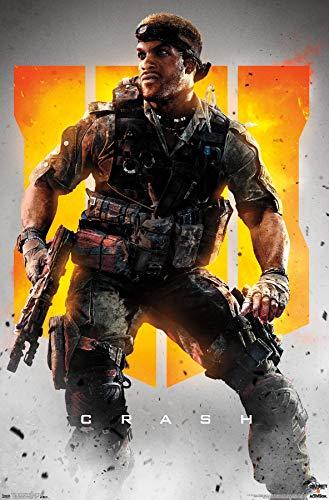 Trends International Call of Duty: Black Ops 4 - Crash Key Art Wall Poster, 22.375' x 34', Premium Unframed Version