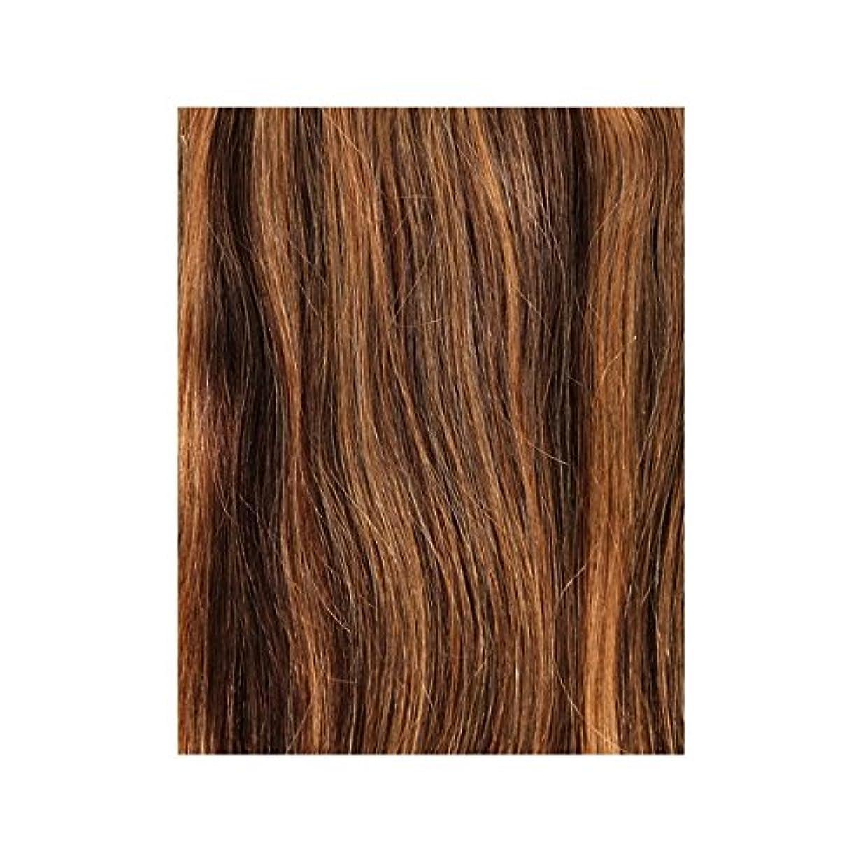 チャームほこりっぽい乳製品4/27 - 美しさは、100%レミーの色見本ヘアエクステンションの作品 x4 - Beauty Works 100% Remy Colour Swatch Hair Extension - Blondette 4/27 (Pack of 4) [並行輸入品]
