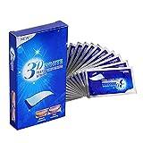White Stripes (28Pcs), Bleaching Stripes, Zahnaufhellung Strips mit advanced no-slip technology, Teeth Whitening strips, Bleaching für Weiße Zähne