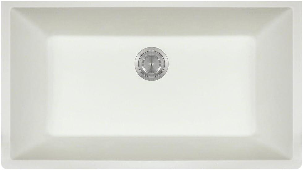 MR Sale item Max 78% OFF Direct 848-white Quartz Kitchen Granite White Sink