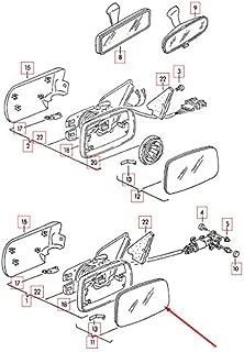 GTV PROJECT 1 F20 R/ückspiegel-Halterungsring f/ür Vorder und rechte T/ür 51167284124