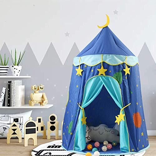 YXYOL Kids Play Tent,Children's Indoor Game Tent,Baby Boy Girl Home Room Toy House,Entertainment Castle,Kids Birthday Gifts,Yurt Toy House