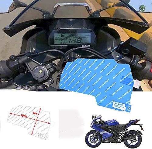 Lorababer Motocicleta YZFR125 2019 2020 velocímetro Scratch Cluster Protector de película de...