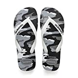 Havaianas Top Camu, Infradito Uomo, Multicolore (Steel Grey/White 1077), 41/42 EU...