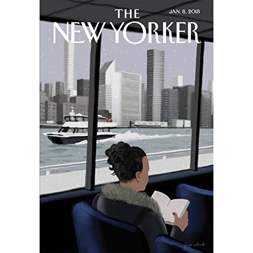 The New Yorker, January 8th 2018 (Louis Menand, Dana Goodyear, Siddhartha Mukherjee) cover art