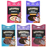 HowseHold MEOWEE! Cat Treats, Mixed Variety Pack [PICK YOUR FLAVOURS] 12 Packs - Chicken, Tuna, Beef