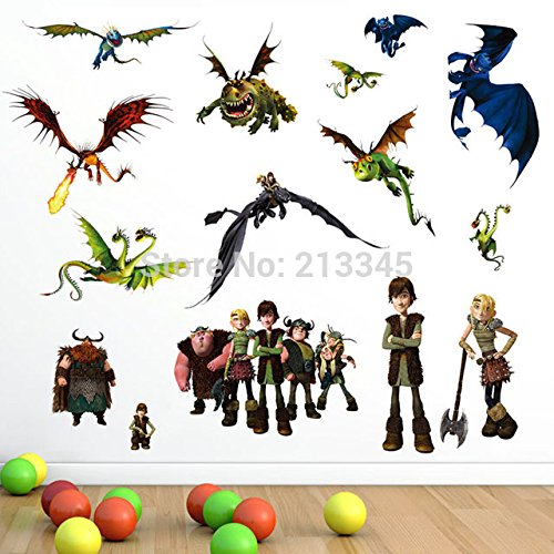 How To Train Your Dragon 2 wall sticker By Donass®