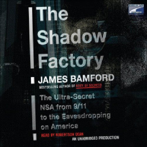 The Shadow Factory audiobook cover art