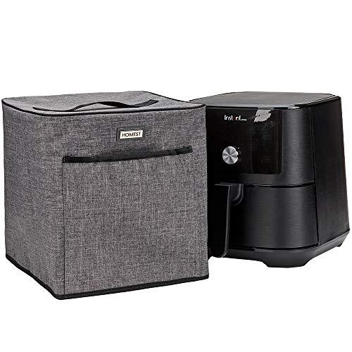 HOMEST Air Fryer Dust Cover Compatible with Instant Vortex Air Fryer 6 Quart, Grey (Patent Pending)