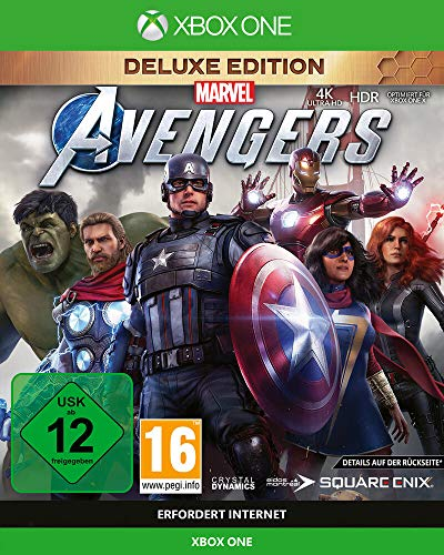 Square Enix Marvel's Avengers Deluxe Edition (inkl. kostenloses Upgrade auf Xbox Series X) (XONE)
