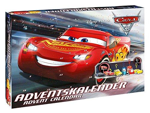 Disney- Pixar Cars Calendrier de l'Avent, 57361