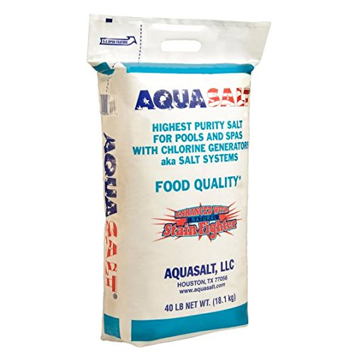 AQUASALT Chlorine Generator Salt for Swimming Pools