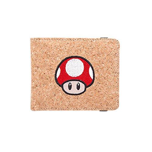 Bioworld Nintendo Super Mario Bros. Mw120205Ntn - Funda para Tarjetas de crédito, 17 cm, Color marrón