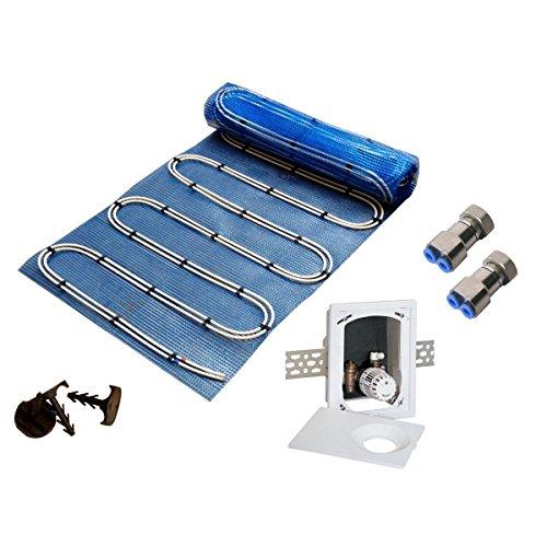 8 mm AquaDur® Plus Set Multibox RTL Warmwasser Flächenheizungen 5.0 qm (2 x 0.8 x 4.00 m)