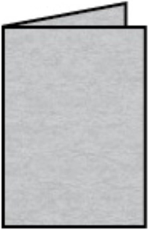 Rössler Papier - - Paperado-Karte DIN A7hd, Silber B07CX7Z131 | Authentisch
