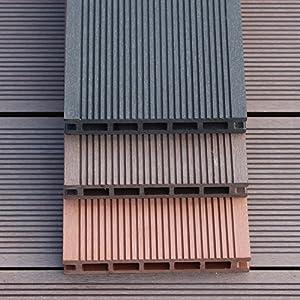 Pisos wpc/tablero de madera/el balcón,baño,anti-que patina,jardin,suelo de madera de diy/cosiendo el suelo al aire libre-A
