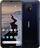 Nokia G10 - Smartphone de 6.5 Pulgadas (WiFi 802.11 b/g/n/AC, BT 5.0, MTK Helio G25 Octa Core, 8xA53 2.0GHz, ROM: 64 GB, 4GB, Android 11 64bits, Cámara 13MP/8MP, Cable USB-C OTG) Night