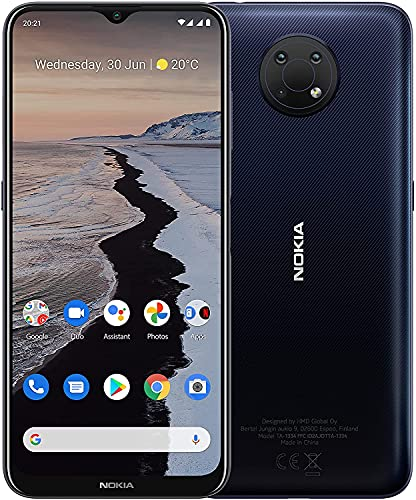 Nokia G10 - Smartphone de 6.5 Pulgadas (WiFi 802.11 b/g/n/AC, BT 5.0,...