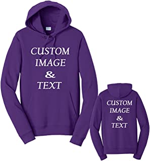 Custom Sweatshirt, Personalized by Uploading Photos, Text, Design Your Own