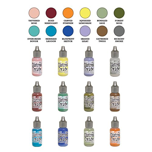 Ranger Tim Holtz Distress Oxide Reinker Set, 12 colors