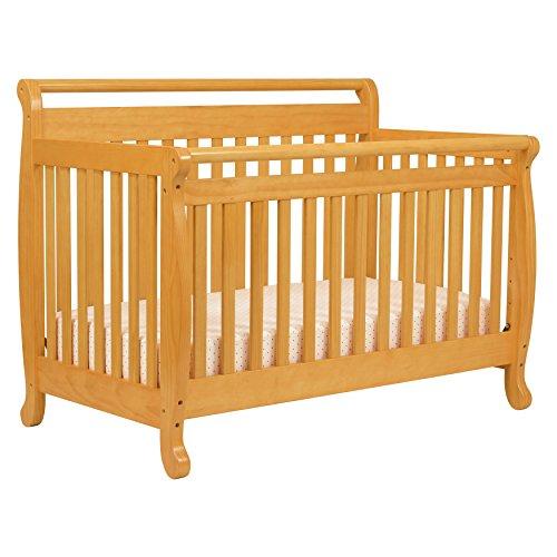 DaVinci Emily 4-in-1 Convertible Crib in Honey Oak