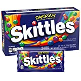 Skittles Darkside Singles Size Candy, 1.76 Ounce - 24 Count