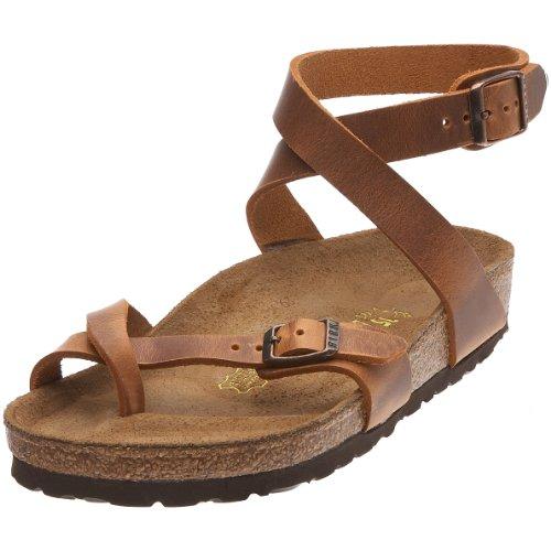 Birkenstock Yara - Sandalias para mujer, color Marrón, talla 35.5 EU