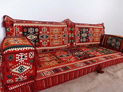 cushions for bench,floor seating,floor cushions,arabic seating,arabic cushions,floor sofa,oriental seating,furniture,majlis,jalsa,floor couch,arabic couch - MA 44