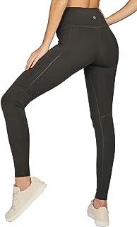 Alana Athletica High Waisted Womens Yoga Pants - Tummy Control & 2 Pockets - The Dash Side Pocket Legging