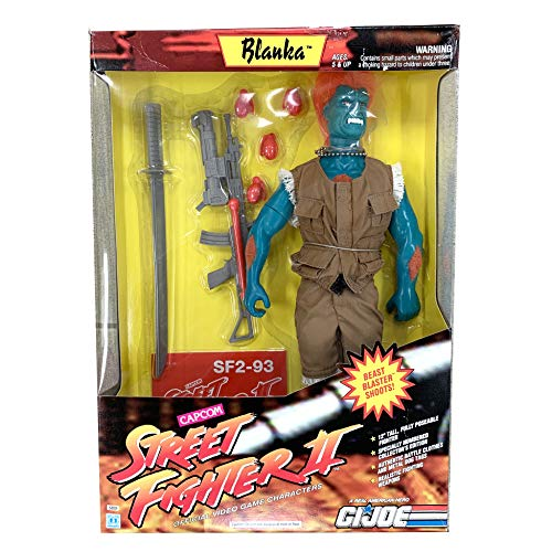 GI Joe Street Fighter II Edition 12 inch Blanka Action Figure