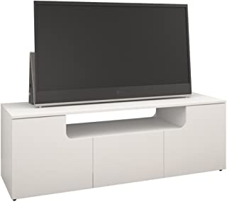 Arobas 60-inch TV Stand from Nexera, White